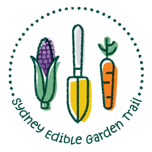 Sydney Edible Garden Trail Logo