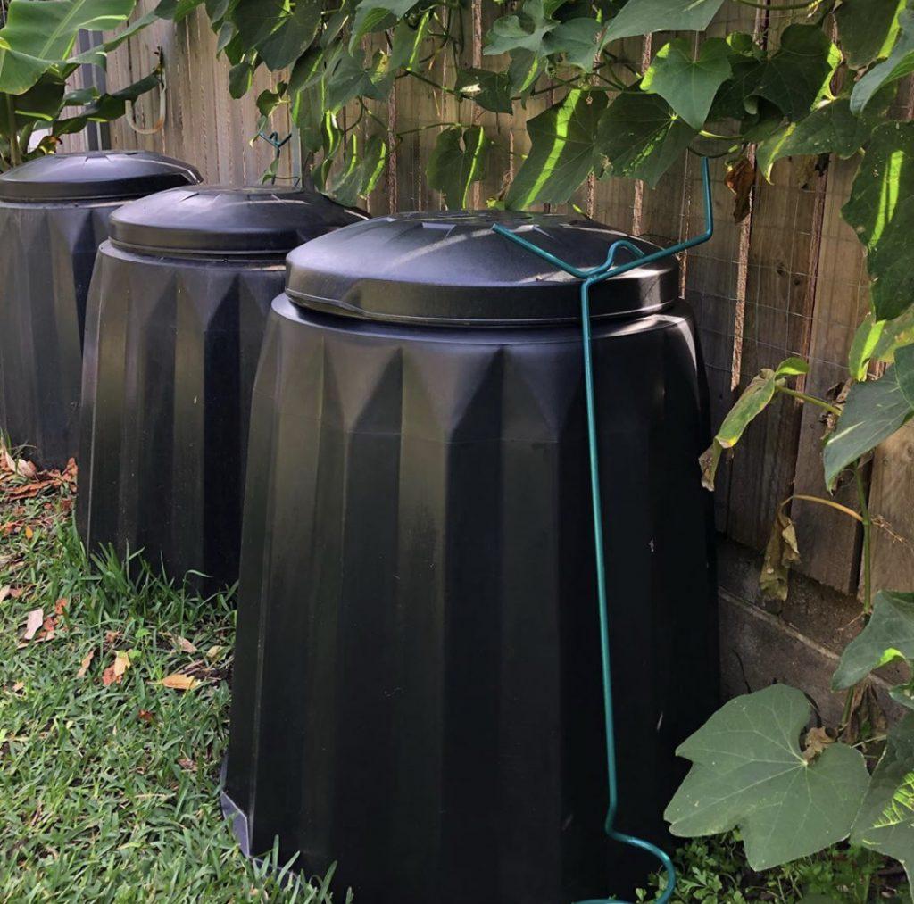 Sydney Edible Garden Trail - compost bins