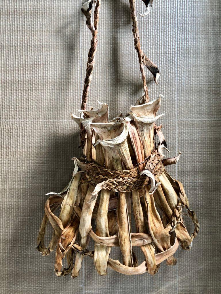 Nicole Robins handmade fibre basket
